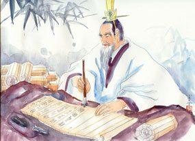 Le ver de terre l'empereur Liangwu et le moine
