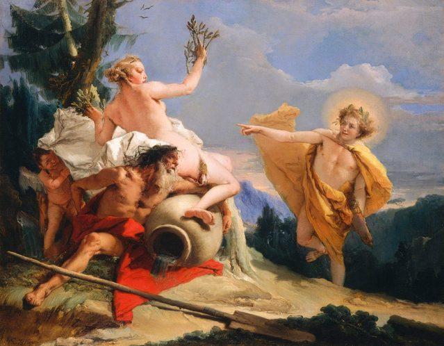 Apollon et la création de la poésie par James Sale